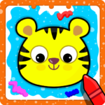 Animal Sounds for babies & Coloring book for kids 1.20 MOD APK