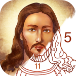 Bible Coloring – Paint by Number, Free Bible Games 2.16.2 MOD APK