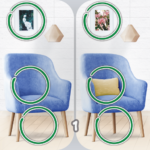 Find the difference 5.02 + levels 5.11 MOD APK