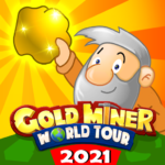Gold Miner World Tour: Gold Rush Puzzle RPG Game 1.8.2 MOD APK
