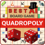 Quadropoly Best AI Board Business Trading Game 1.78.88 MOD APK