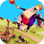 Catapult Shooter 3D💥: Revenge of the Angry King👑  MOD APK
