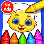 Coloring Games: Coloring Book, Painting, Glow Draw 1.1.1 MOD APK