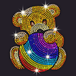 Diamond Coloring – Sequins Art & Paint by Numbers 1.5.7 MOD APK