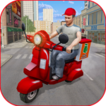 Moto Bike Pizza Delivery Games 2021: Food Cooking 1.12 MOD APK