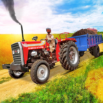 Tractor Trolley Drive Offroad Cargo: Tractor Games 1.0.8 MOD APK