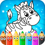 Coloring pages for children: animals 1.0.6  MOD (Unlimited Money)