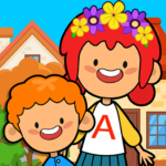 My Pretend Home & Family – Kids Play Town Games! 2.9  MOD (Unlimited Money)