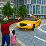 New Taxi Driving Games 2020 – Real Taxi Driver 3d 4 MOD (Unlimited Money)