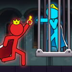 Red And Blue Stickman 1.0.12  MOD (Unlimited Money)