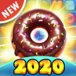 Sweet Cookie -2021 Match Puzzle Free Game 1.5.5  MOD (Unlimited Money)