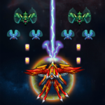 Alien Attack: Galaxy Invaders 1.3.9 MOD (Unlimited Crystals)