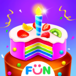 Bake Cake for Birthday Party-Cook Cakes Game 1.2  MOD (No Ads!)