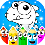 Coloring dinosaurs 1.4.5 MOD