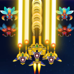 Galaxy Infinity: Alien Shooter 1.6  MOD (Unlimited Crystals)