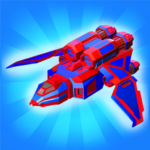 Merge Space Ships: Cyber Future Merger 3D 2.0.5 MOD (Unlimited Package)