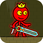 Red Stickman : Animation vs Stickman Fighting 2.2 MOD (Unlimited Subscription)