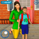 Amazing Family Game Virtual Mother Simulator 3.4 MOD (Unlimited Dresses)