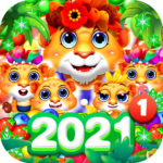 Bubble Shooter 2 Tiger 1.0.61 MOD (XS coin pack)