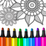 Coloring Book for Adults 16.3.8 MOD (Unlimited Access)