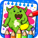 Fantasy – Coloring Book & Games for Kids 1.23 MOD (Unlimited Premium Access)