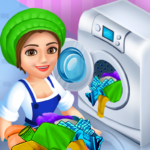 Laundry Shop Clothes Washing Game 1.21 MOD