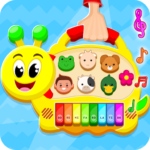 Musical Toy Piano For Kids 1.0.4 MOD (All Games Unlocked)