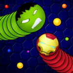 Snaky .io – Slither Battle With Masks 6.1.8 MOD (No Ads)