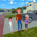 Super Dad : Virtual Happy Family Game  MOD (Unlimited Protocol)