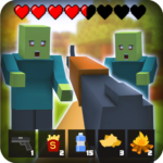 Zombie Craft Survival 3D: Free Shooting Game 45  MOD (No Interrupting Ads)