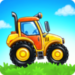 Farm land and Harvest – farming kids games 3.0.4  MOD (Unlimited Crystals)