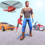 Real Gangster Real Crime: Action & Adventure Games 1.0.6  MOD (Unlimited X)