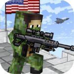 American Block Sniper Survival 100 MOD (Unlimited Weapons)