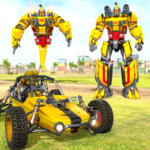 Flying Ghost Robot Car Game 1.1.7 MOD