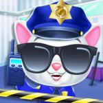 Kitty Cat Police Fun Care & Thief Arrest Game 6.0 MOD (No Ads)