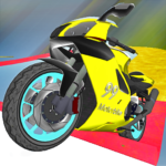 Motorcycle Escape Simulator  2.1 MOD (Unlimited Racer Green)