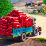 Real Cargo Tractor Trolley Farming Simulation Game 1.0 MOD (Unlock Everything)