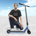 Scooter Space 1.010 MOD (Unlimited X)