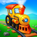 Train Games for Kids 3.2.11 MOD (Unlimited Trains)
