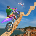 bike stunt 3d and bike racing games 1.5 MOD (Unlimited Coins deal)
