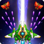 Galaxy Attack-space shooting games 3.0.0 MOD (Unlimited Crystals)